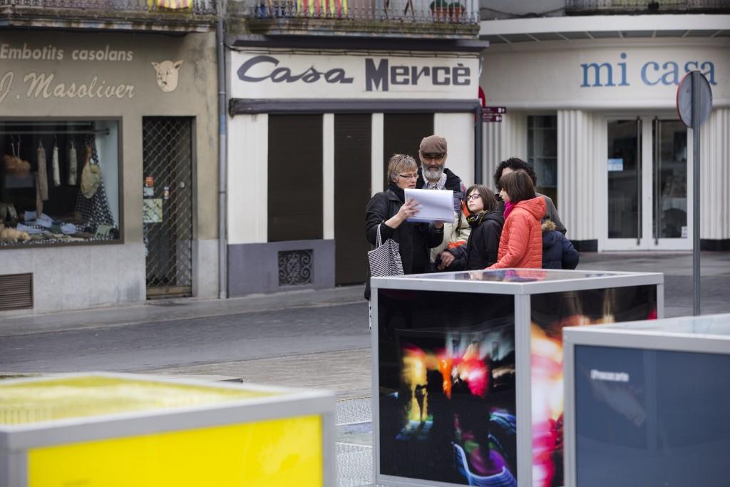 Plaça Major Olot - Educart