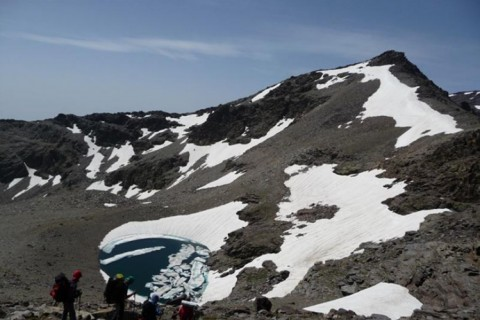 """Travesía Integral de los 3.000 de Sierra Nevada con """"arrieros"""""""