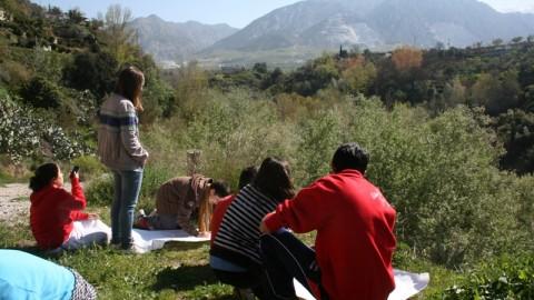 Granja-Escuela El Molino de Lecrín (Actividades)