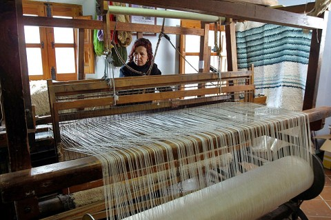 Aprende a tejer una jarapa (alfombra)