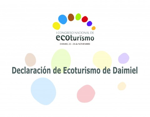 DECLARACIÓN DE ECOTURISMO DE DAIMIEL (Noviembre, 2016)