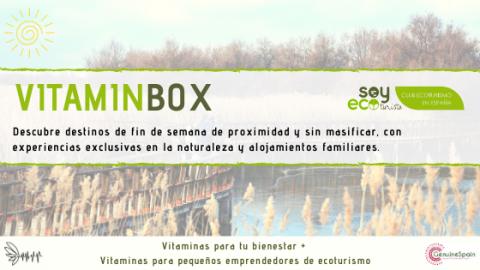 Nace VitaminBox, una caja de experiencias de ecoturismo para descubrir España