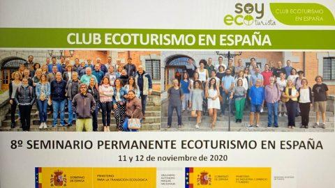 Celebrado con éxito el 8º Seminario permanente del Club Ecoturismo en España