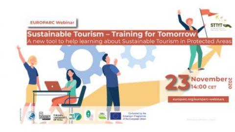 Disponible el Webinar sobre la plataforma de formación Sustainable Tourism – Training for Tomorrow