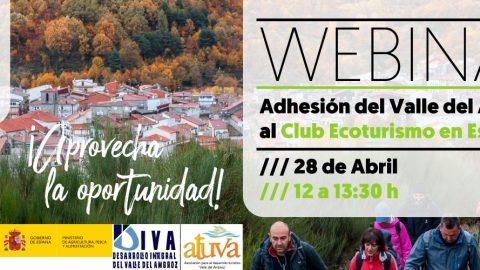 Webinar | Adhesión del Valle del Ambroz al Club Ecoturismo en España