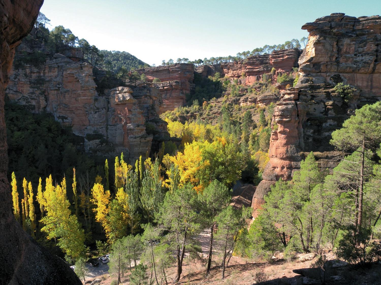 El día europeo de los parques naturales con el club ecoturismo en España y esta selección de parques entre los que se encuentra el De Molina de Aragón Alto Tajo