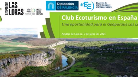 Formación sobre el Club Ecoturismo en España en el Geoparque de Las Loras