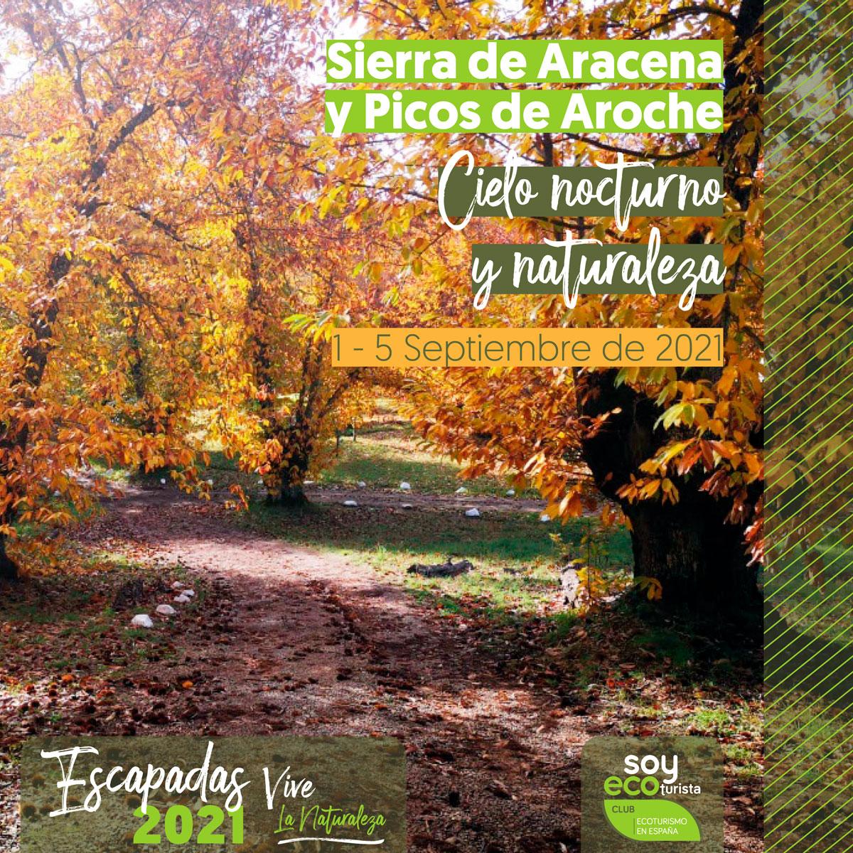 escapada otoño a sierra aracena