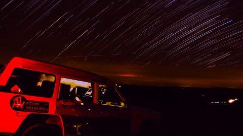 Observación astronómica con NatRural – Astrovilluercas