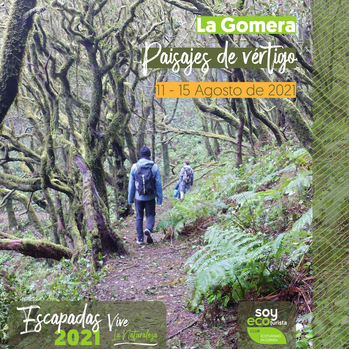 escapadas agosto ecoturismo La Gomera