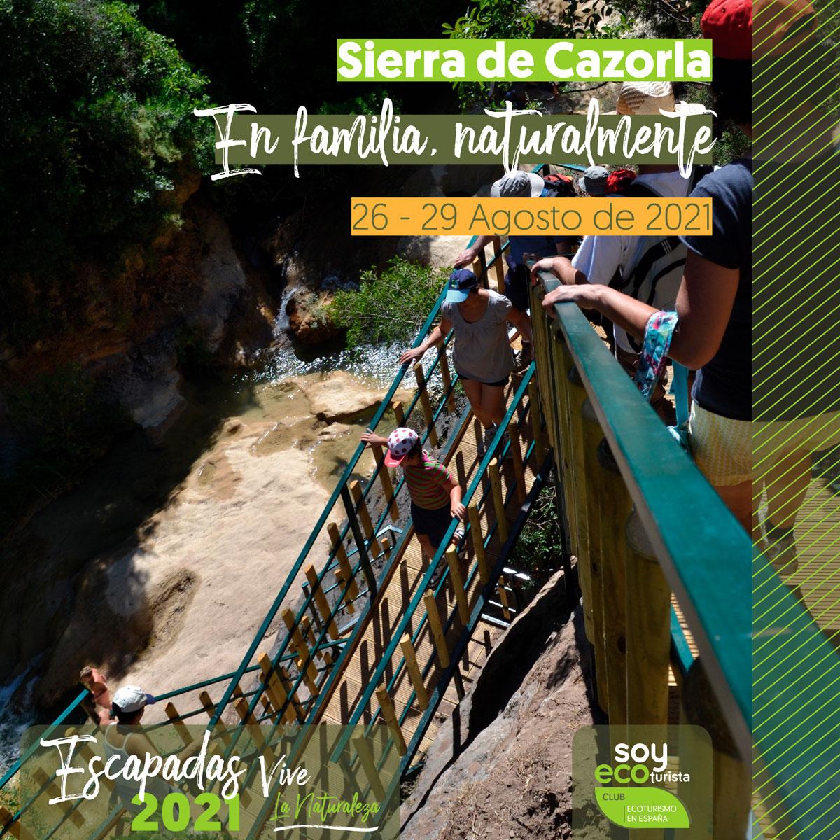 Zambúllete en la historia, paisajes y experiencias que estas escapadas de agosto están dispuestas a ofrecerte Sierra de Cazorla