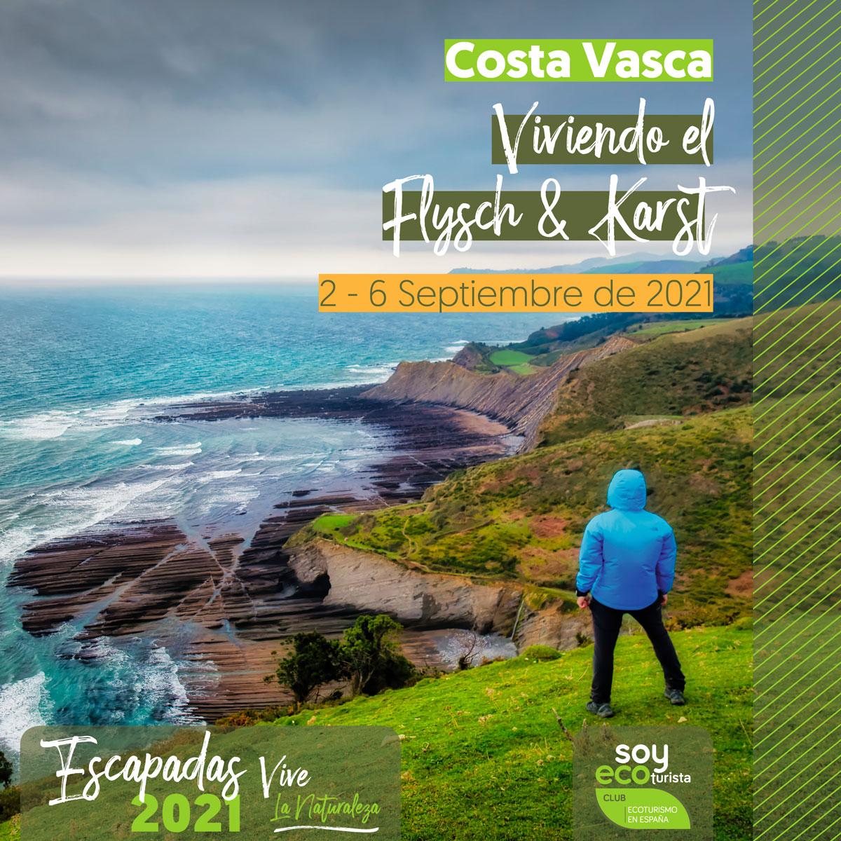 visita la costa vasca desde el lado del ecoturismo