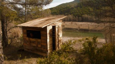 Escóndete en el hide Birding Sobrarbe con Casa Gerbe
