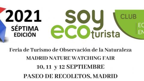 El Club Ecoturismo en España estará presente en la MadBirdFair 2021
