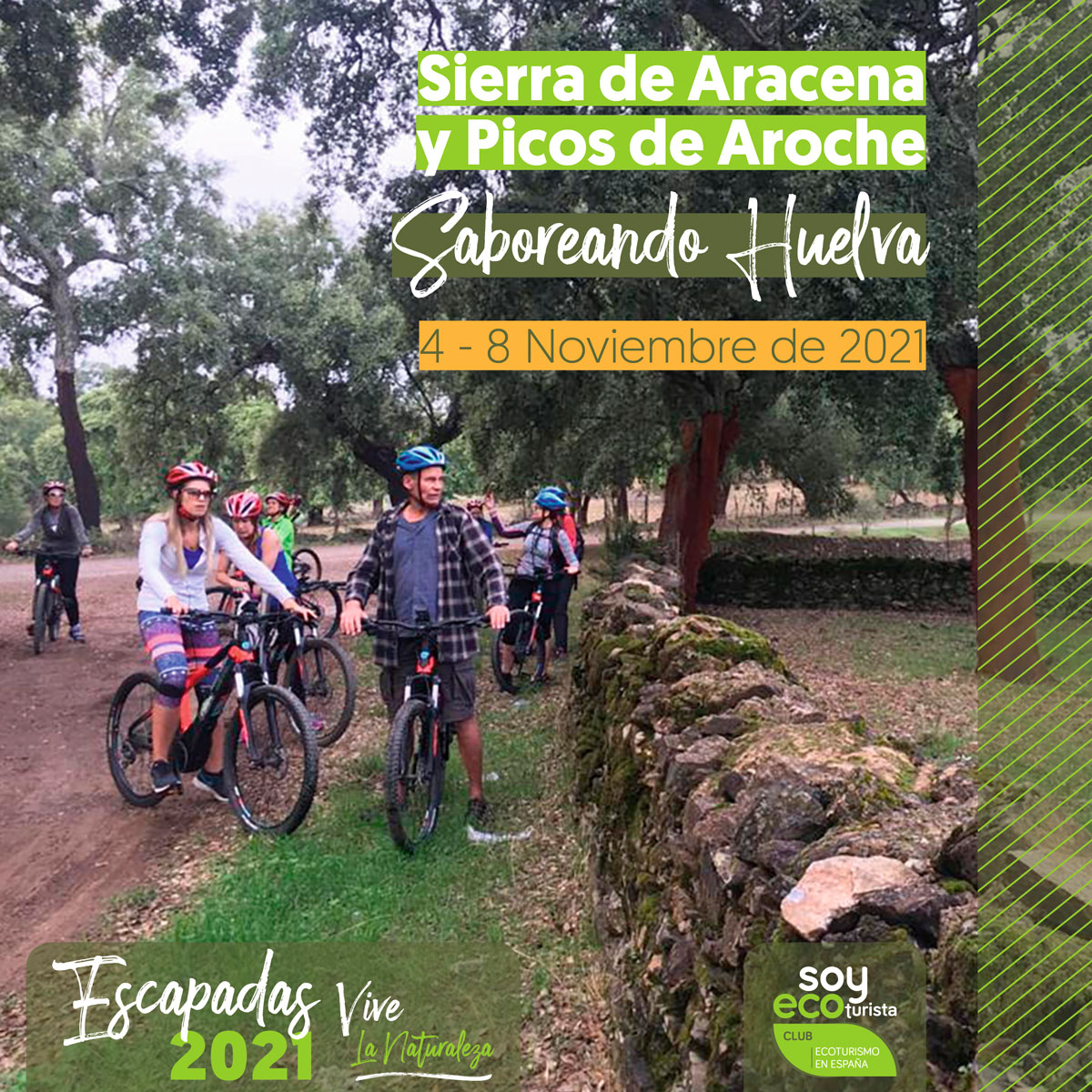 Escapada ecoturismo noviembre a Sierra de Aracena