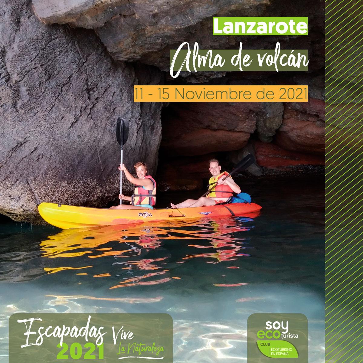 Escapada de ecoturismo en noviembre a Lanzarote