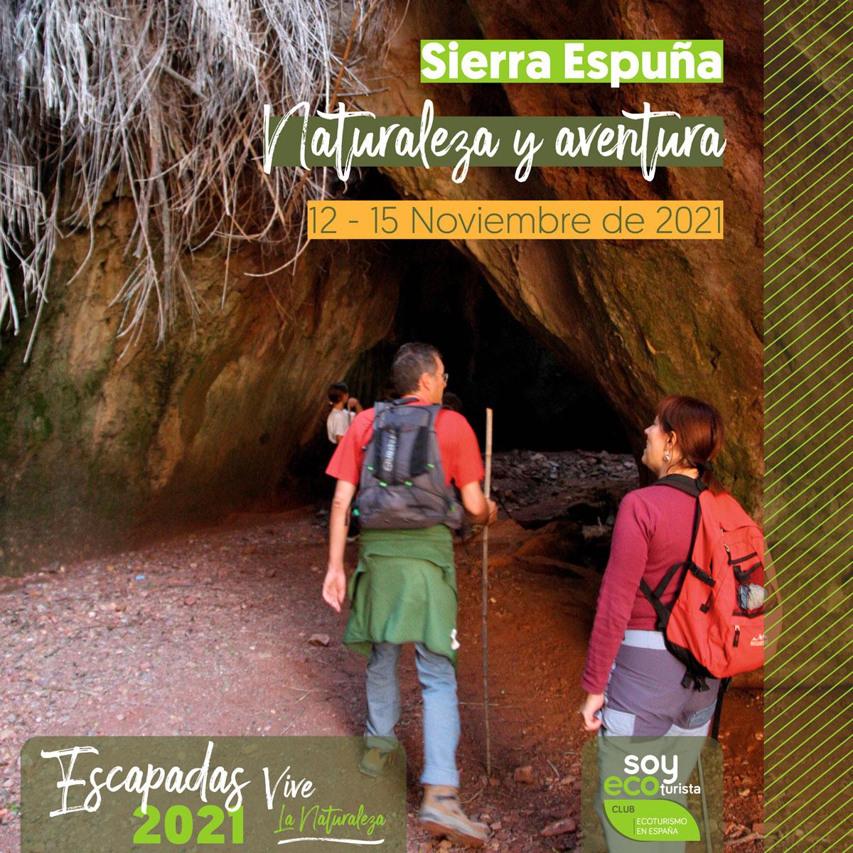 Realiza ecoturismo en Sierra Espuña en noviembre