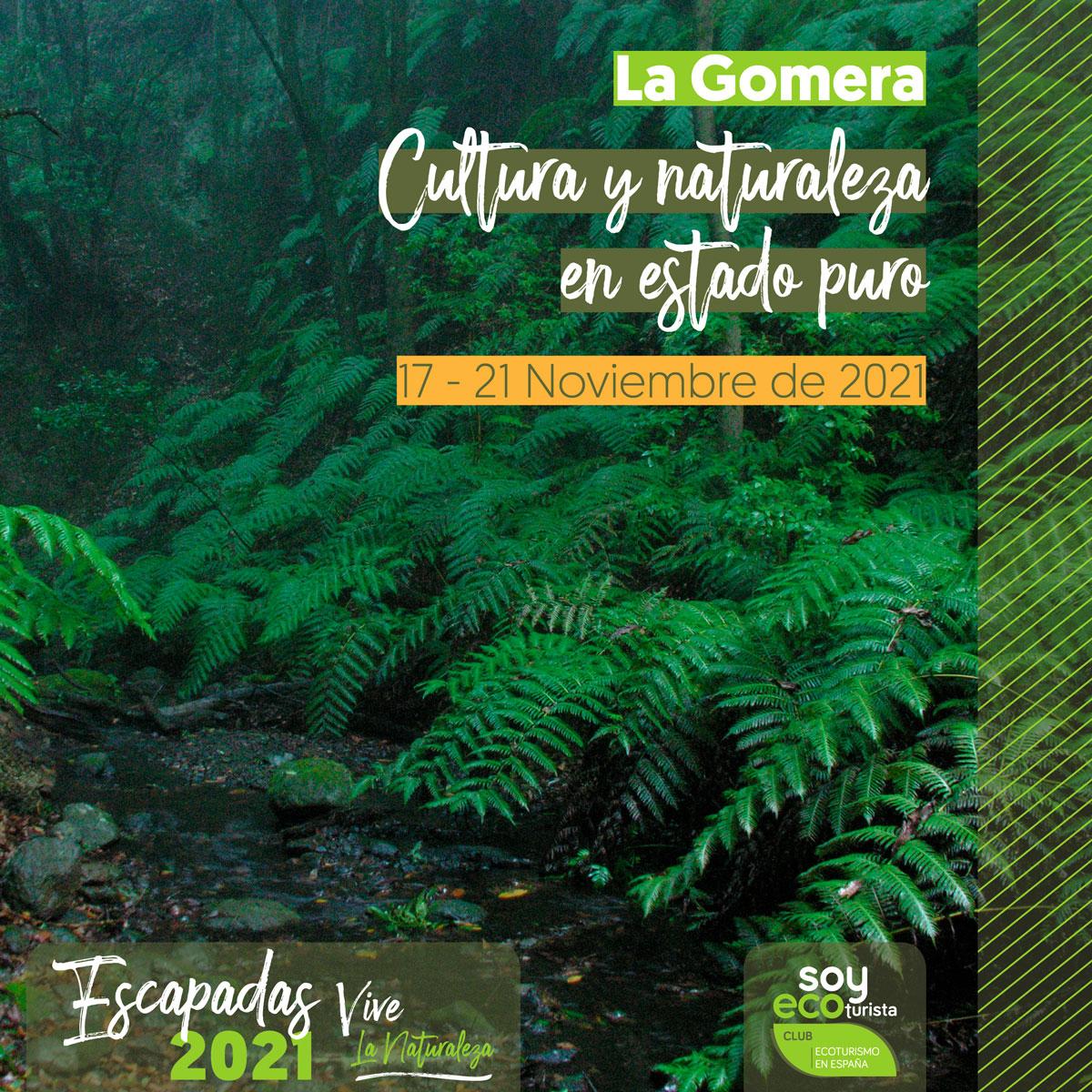 escapada de ecoturismo a La Gomera en noviembre
